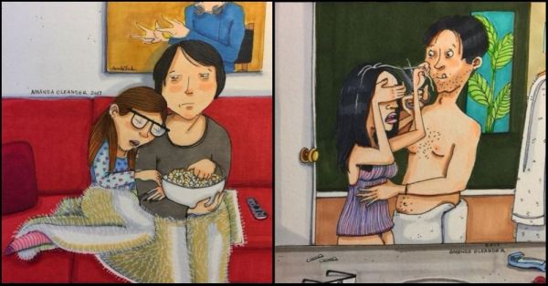 Love Is In The Little Things And These Heartwarming Illustrations Are Proof!