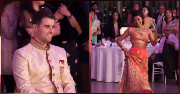 This Groom Was Left Speechless When His Bride Danced On Deewani Mastani For Him!