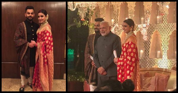 PM Narendra Modi Is At The Virushka Reception In Delhi... See Pics Inside!