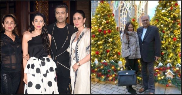 Here's A Roundup Of The Merriest Christmas Parties In Bollywood This Year
