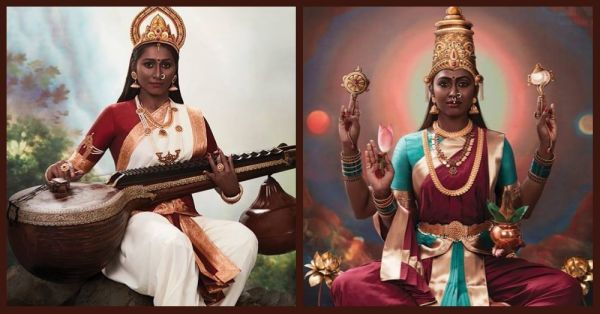 Bold & Beautiful: This Realistic Makeover Of Indian Deities Will Leave You In Awe