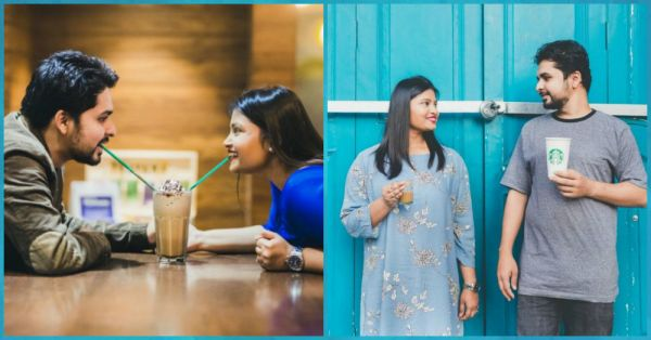 This Couple's Foodie Pre-Wedding Photoshoot Proves That Love = FOOD!