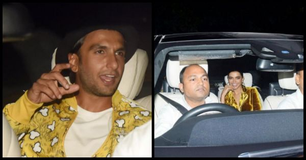 #AboutLast Night: DeepVeer Partied Together At SRK's House