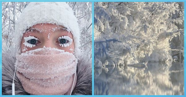 People's Eyelashes Are Freezing In This Super Cold Siberian Village And It's Just WOW