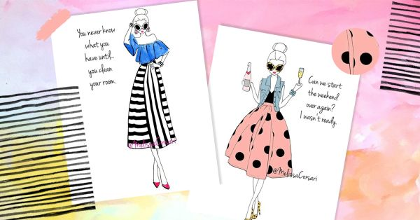 These Illustrations Perfectly Sum Up Our Daily Fashion Mood!