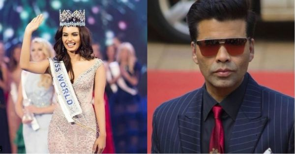 Manushi Chillar Might Go From Miss World To Student Of The Year 2, Thanks To Karan Johar