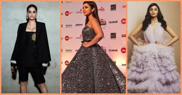 Red Carpet Round-Up: What Bollywood Divas Wore At The Filmfare Awards, 2018