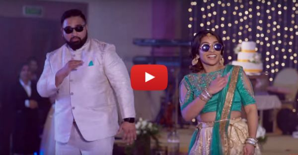 This South Indian Couple's Dance On 'Kala Chashma' Is Swag On Point!