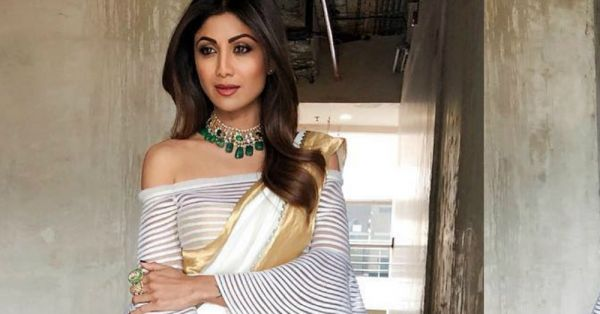 Shilpa Shetty's New Look Proved Once Again That She Is The Queen Of The Saree Style Innovation!