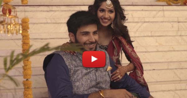A Love Story That Started In London, Bloomed In Paris & Ended In A Pretty Wedding In India!
