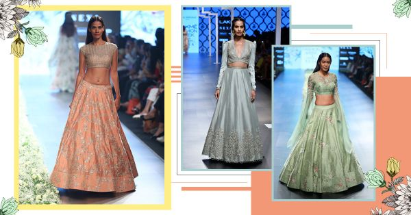 Blue On A Bride?  Wedding Lehenga Colours That Are NOT Your Typical Red!