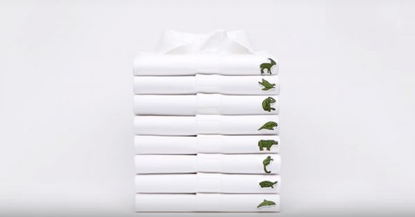 The Lacoste Crocodile Loses Its Spot To The Javan Rhino And The Sumatran Tiger!