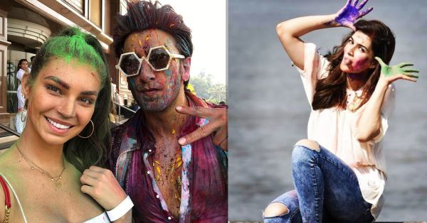 Bollywood Had A Happy Holi & You Won't Believe Which Hollywood Singer Joined Them