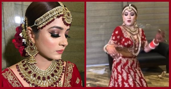 If You Don't Have 'Itna Swag' At Your Wedding, Take Cues From This Punjabi Bride