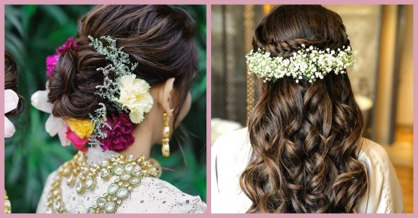 Move Over Messy Braids - 7 *Stunning* Mehendi Hairstyles To Make You Look Like A Celeb!