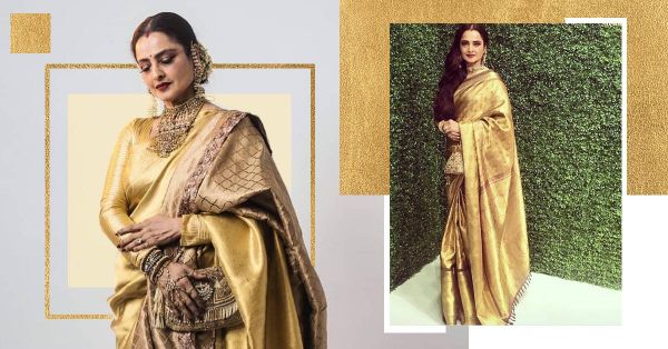 The Rekha-Proof Guide To Kanjeevaram Sarees And Why You Should Get One!