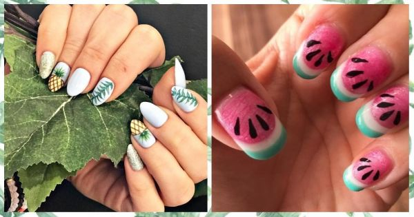 9 Summer Nail Art Designs That Don't Need A Manicurist