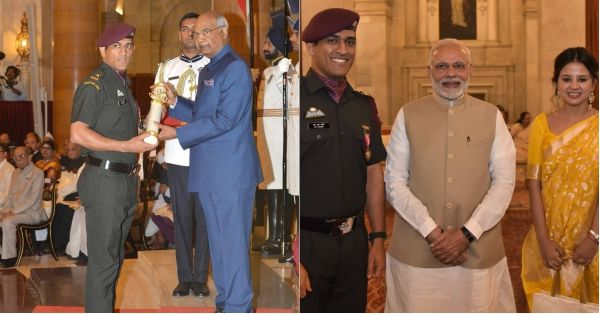 #CaptainCool: Dhoni Wins A Padma Bhushan And Our Hearts, This Time In An Army Uniform