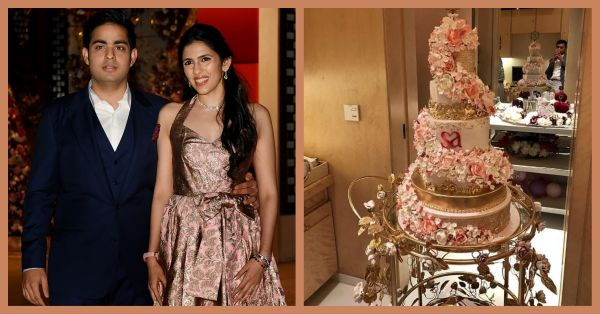 Cake, Decor & More: Unseen Pictures From Akash Ambani & Shloka Mehta's Engagement!
