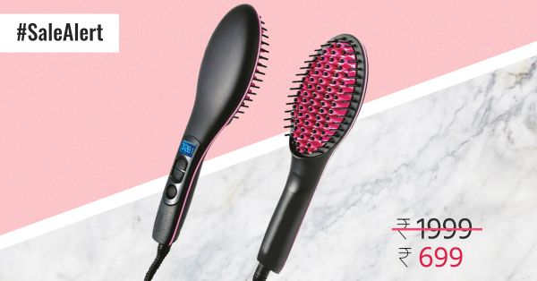 #GoodHairDay: Get 65% Off On This Hair Straightening Brush!