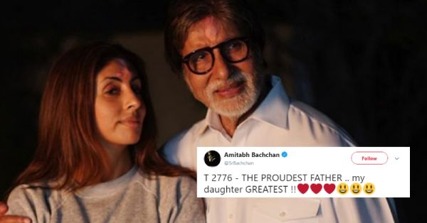 Shweta Bachchan Nanda Is Making Her Debut & Papa Bachchan Couldn't Be More Proud!