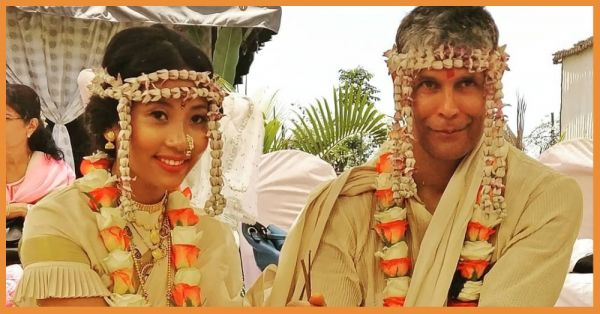 Girls, He's Officially Taken - Check Out Milind Soman's Wedding Pictures And Videos!