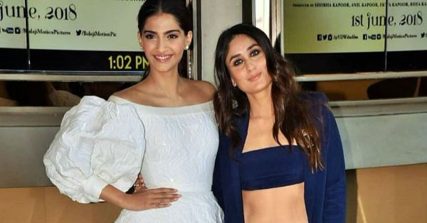 Kareena Does Abs & Sonam 70s Puffy Sleeves At The *Veere Di Wedding* Trailer Launch!