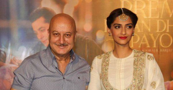 Anupam Kher Wishes His 'Chhoti Si Bachi' Bride-To-Be Sonam In An Adorable Video