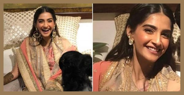 Smiling From Ear To Ear: Here's Everything You Need To Know About Sonam's Mehendi Look!