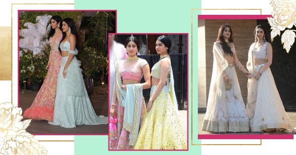Janhvi And Khushi Kapoor Were #SisterGoals At All Of Sonam's Wedding Functions!