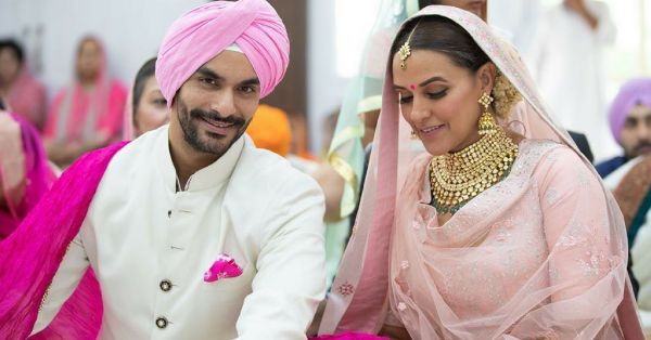WHAT?? Angad Bedi & Neha Dhupia Just Got Married - Pictures Inside!