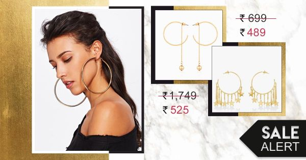 Ultra Cool Earrings On Sale You Would Jump Through The *Hoop* For!