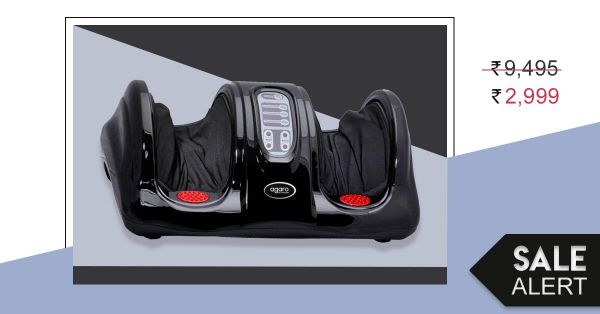 Sale Alert: This Foot Massager Is Available At 68% Discount Right Now!