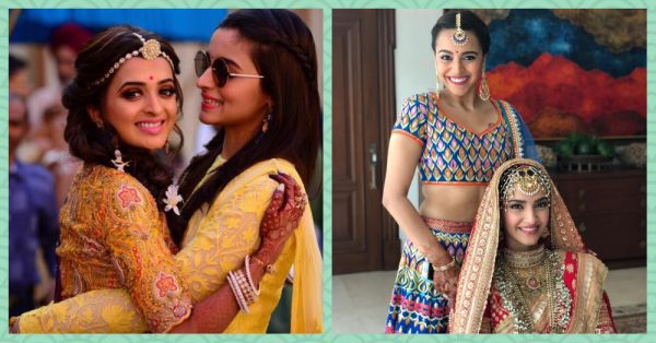These Bollywood Divas Turned Bridesmaids & Were Just Like All Of Us At Our Bestie's Shaadi!