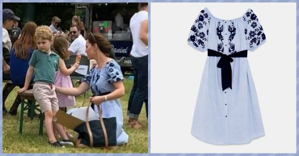Kate Middleton's Dress Is Proof That Even Royalty Shows Loyalty To ZARA!