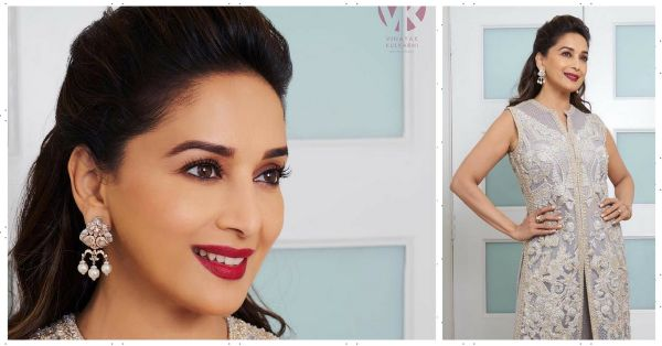 Take Cue From Madhuri Dixit To Look Like A Dream In Makeup At Any Age!