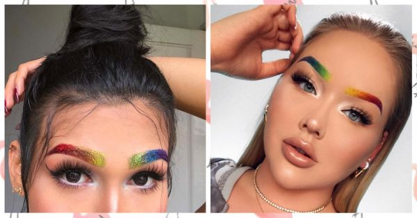 These Rainbow Brows Are The Silver Lining We Need For The Gloomy Days!