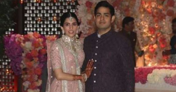 All The Scoop From Akash Ambani And Shloka Mehta's Starry Engagement Bash