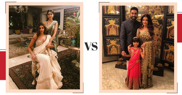 Was The Starry Ambani Engagement A Fashion Face-Off Between AJSK & Manish Malhotra?