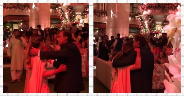 WATCH: Father-Daughter Duo Isha And Mukesh Ambani Danced To Dilbaro & It's Making Us Teary!