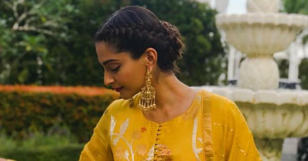 Hairstyle Tales: Here Are 9 Times When Sonam Kapoor Flaunted That Jawline In An Updo!