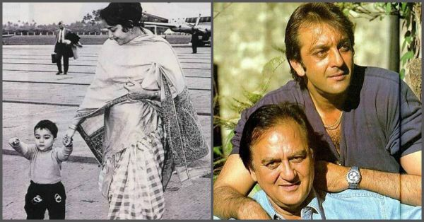 15 Unseen Photos of Sanjay Dutt With His Family That You ...