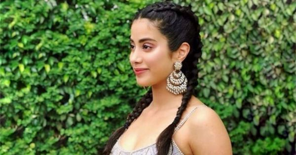 Janhvi Kapoor Gave Double Dutch Braids An Indian Twist And We're Digging It!