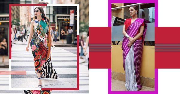 Time To Ditch Black: 7 Bollywood-Approved Bright & Beautiful Sarees