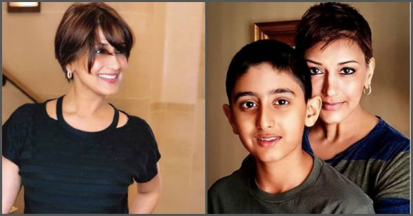Sonali Bendre Shares How She Opened Up To Her Son About Cancer In A Heartfelt Post