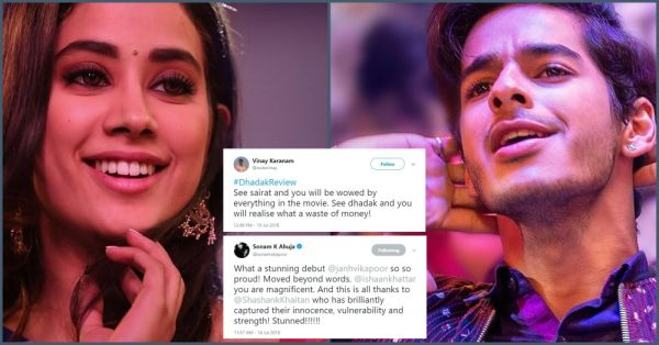Bollywood Loves 'Dhadak' But Twitter Gives A Thumbs Down To Janhvi & Ishaan!