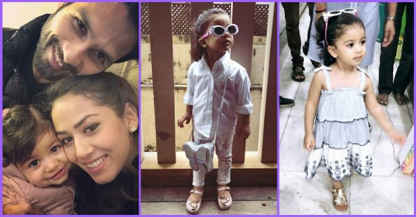 Misha Kapoor Is Picking Out Her Own Outfit At The Age Of 1 And It's Spot On!