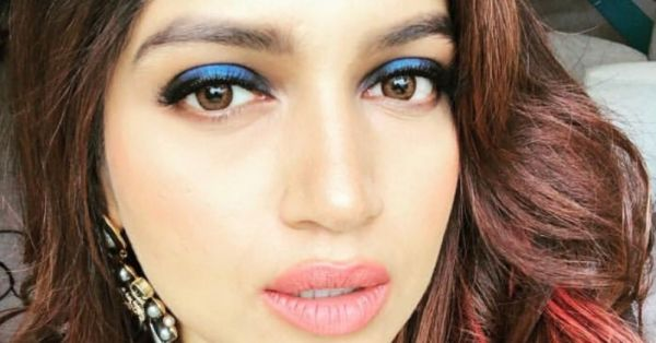 Take Cue From Bhumi Pednekar And Let A Coloured Eye Look Amp Up Your Day!