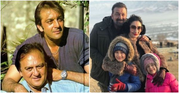 These Photos Of Sanjay Dutt Prove That It's All About Loving His Family!