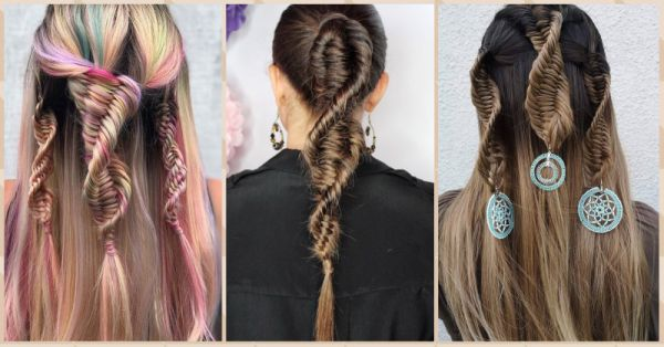 It's Cool To Be Nerdy: DNA Braids Are The Hottest Hair Trend Right NOW!